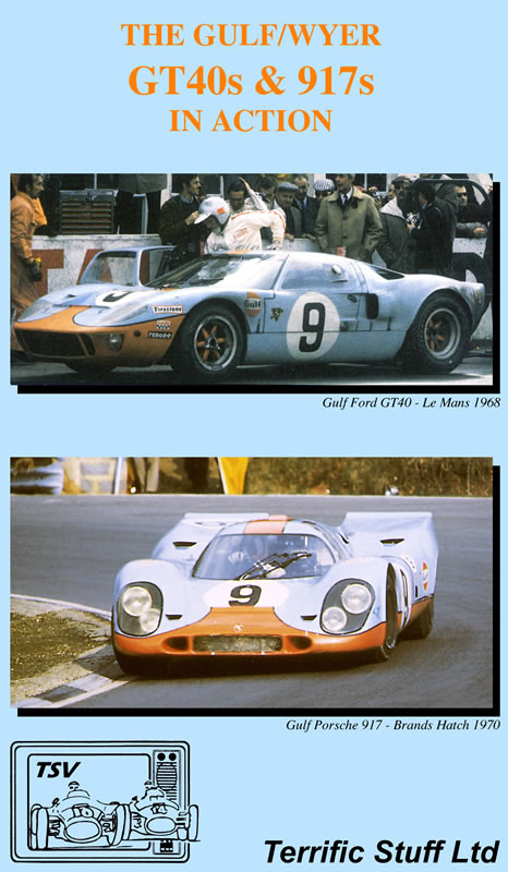 The Gulf/Wyer GT40s & 917s In Action