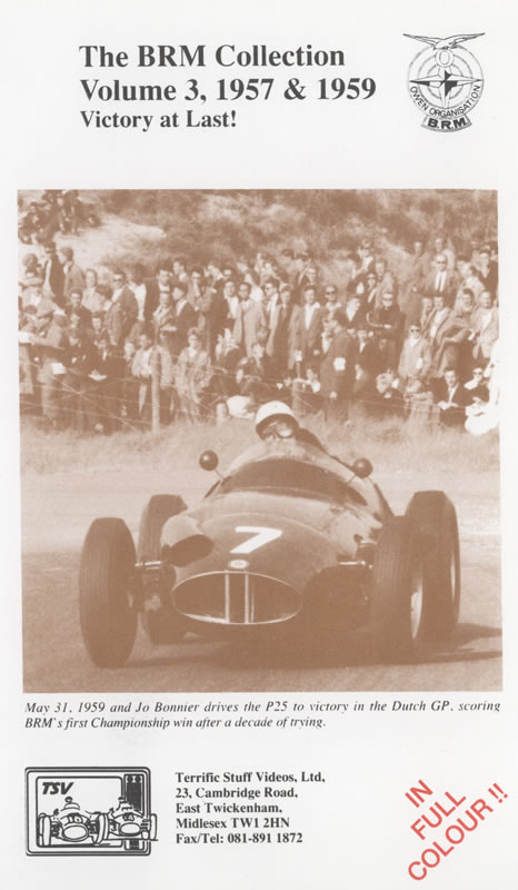The BRM Collection (Volume Three 1957-59)