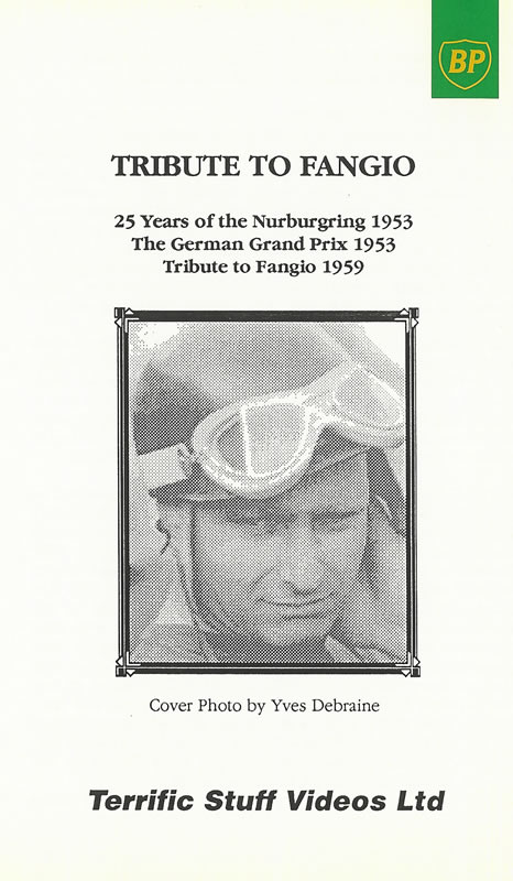 Tribute To Fangio